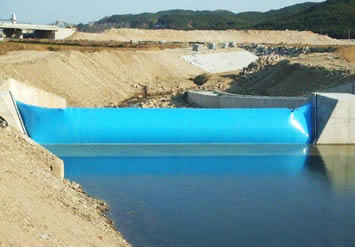 Inflatable Rubber Dam Economical For Water Control